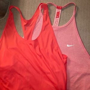 Nike workout drifit tanks - 2 for the price of 1!